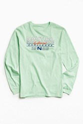 Nautica X Uo Long Sleeve Tee Lime