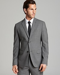 Theory Wellar New Tailor Sport Coat Slim Fit Charcoal