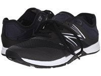 New Balance Wx20v5 Black White Women's Cross Training Shoes