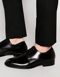Aldo Zilade Patent Leather Derby Shoes Black