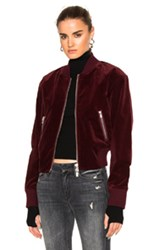 Blk Dnm Jacket 26 In Red