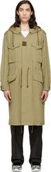 Maison Martin Margiela Military Green Long Parka