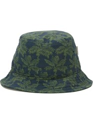 Carhartt Printed Bucket Hat Blue