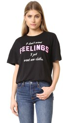 Wildfox Couture New Clothes Tee Clean Black