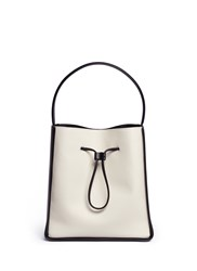 3.1 Phillip Lim 'Soleil' Large Leather Drawstring Bucket Bag White
