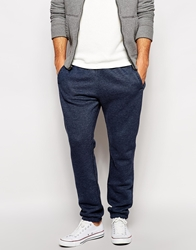 Abercrombie And Fitch Sweat Joggers With Tonal Logo Navy
