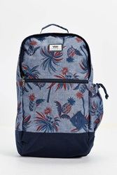 Doren Ii Printed Backpack Blue