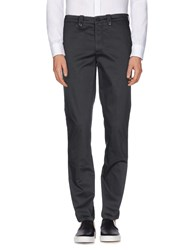 Versace Collection Trousers Casual Trousers Men Steel Grey