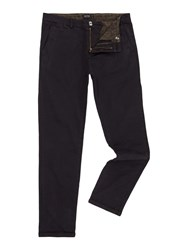 Red Soul Chino Trousers Black