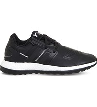 Adidas Y3 Pure Boost Zg Trainers Black White