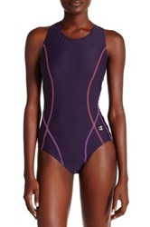Champion Racerback One Piece Suit Purple