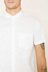 Forever 21 Collared Button Front Shirt