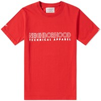 Neighborhood God Of Speed Tee Red