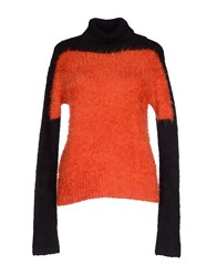 Dries Van Noten Knitwear Turtlenecks Women Rust