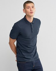 Farah Polo Shirt In Regular Fit In Navy Navy