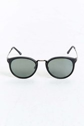 Urban Outfitters Icon Plastic Metal Round Sunglasses Black