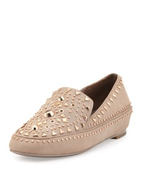 Ivy Kirzhner Studded Leather Loafer Cuoio