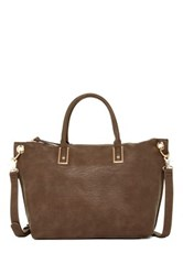 Urban Expressions Arded Convertible Shoulder Tote Brown