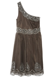 Frock And Frill Cocktail Dress Party Dress Dark Grey Dark Gray