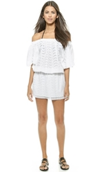Melissa Odabash Michea Cover Up Dress White