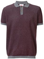 Orley Micro Stitch Polo Shirt Red