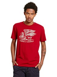 Denim And Supply Ralph Lauren Crew Neck T Shirt Indian Summer