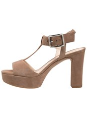 Unisa Verner High Heeled Sandals Tanin Light Brown