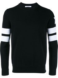 Givenchy Ls Knit White Black