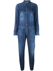 Citizens Of Humanity 'Tallulah' Jumpsuit Blue