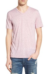 Men's The Rail 'Galaxy Nep' V Neck T Shirt Pink Lavender Nep