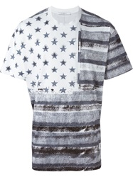 Givenchy Stars And Stripes T Shirt White