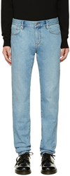 Burberry Blue Cooper Slim Jeans