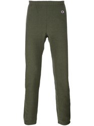 Champion Elasticated Waistband Sweatpants Green