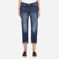 Levi's Women's 501 Ct Tapered Fit Jeans Roasted Indigo
