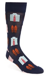 Hot Sox Men's 'Shirts And Loafers' Socks