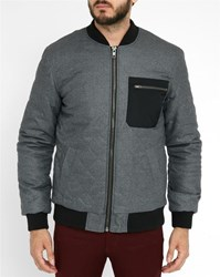 Minimum Grey Tolliver Pr Bomber Jacket