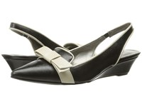 Bandolino Yesminna Black Natural Women's Wedge Shoes