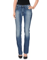 It's Met Denim Denim Trousers Women Blue