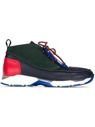 Carven Colour Block Sneakers Multicolour