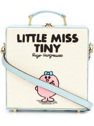Olympia Le Tan 'Little Miss Tiny' Tote Bag Blue