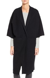 Eileen Fisher Women's Boiled Wool Kimono Coat