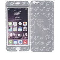 A Bathing Ape X Gizmobies Iphone 6 Cover Silver