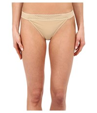 Exofficio Give N Go Lacy Thong Nude Women's Underwear Beige