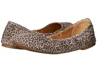 Lucky Brand Emmie Brindle Persian Leopard Women's Flat Shoes Gold