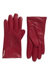 Ted Baker Women's London Leather Gloves Grape