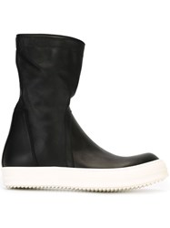 Rick Owens 'Basket Creeper' Boots Black