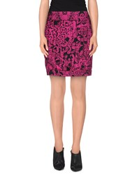 Exte Skirts Mini Skirts Women Fuchsia