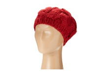 San Diego Hat Company Knh3228 Cable Knit Beret Red Berets