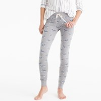 J.Crew Knit Leggings In Zebra Print