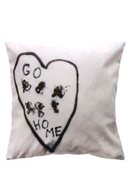 Henzel Studio Untitled 2014 Go Home Printed Pillow